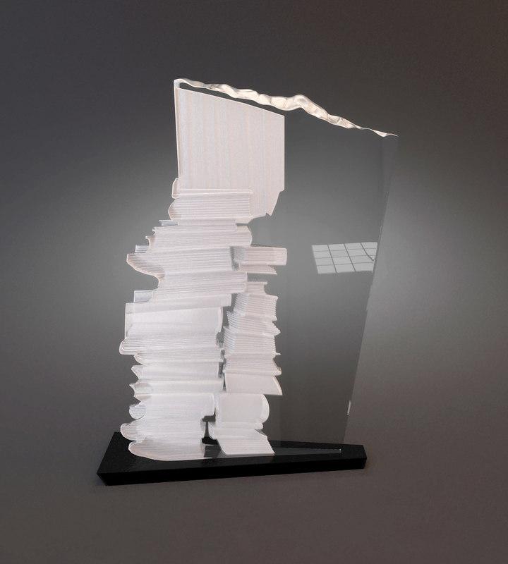 max glass statuette