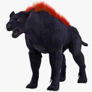 hellhound fur 3d max