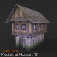 ready medieval house 3ds
