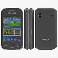 samsung galaxy gio 3d model