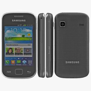 samsung galaxy gio 3d model