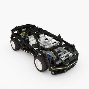 3d lego technic 8080