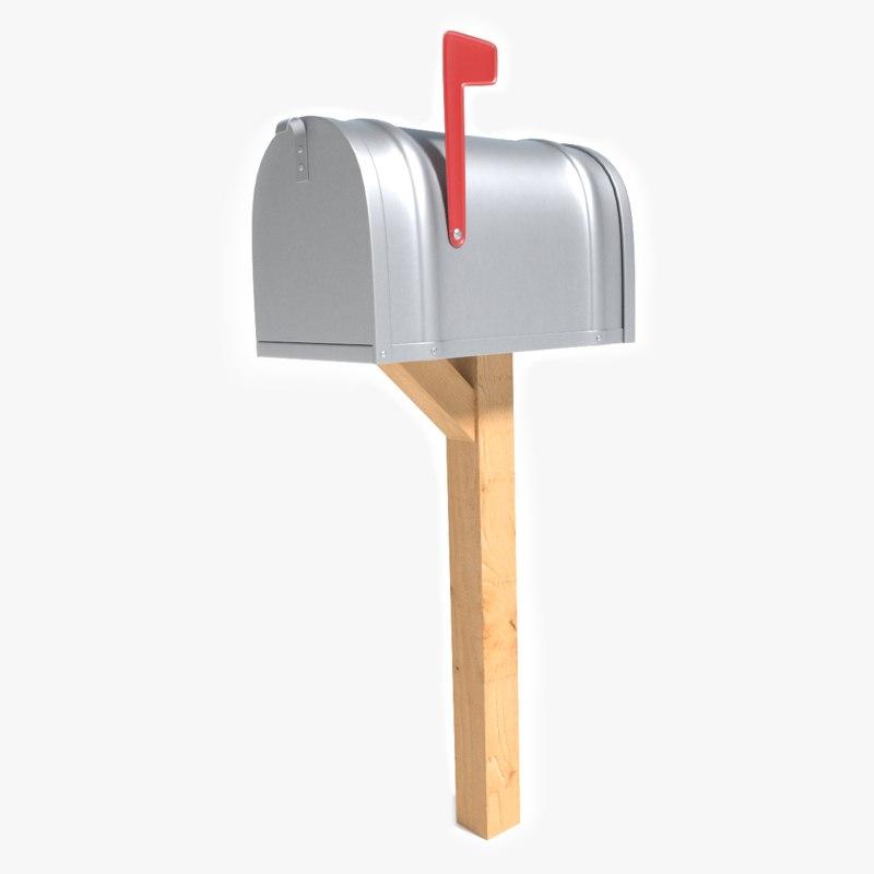 mailbox mail box 3d model