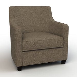 3d max christian cabot lounge chair
