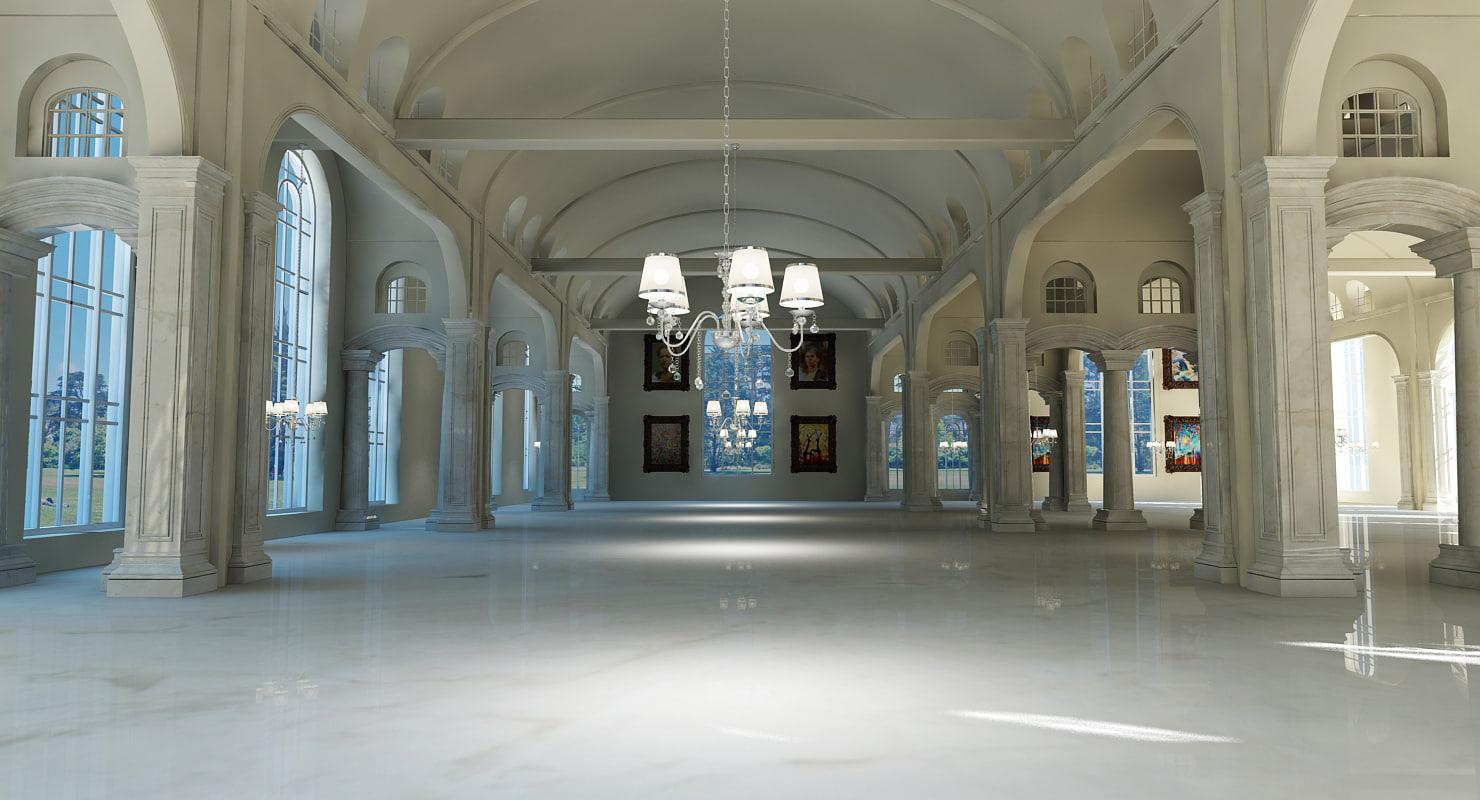 max classic interior scene