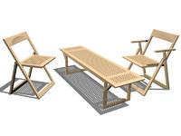 3dsmax pliaviva folding chair elisa