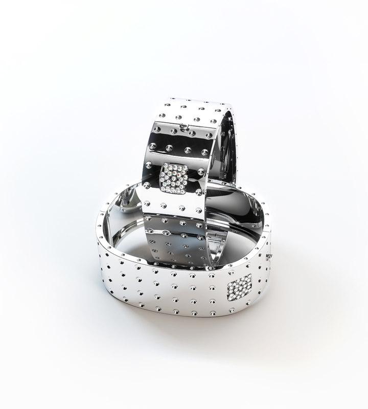 bracelet pois moi 3d model