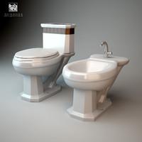 toilet sink 3d max