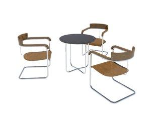 3d model tubular table