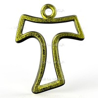 pendant st anthony cross-cut 3d model