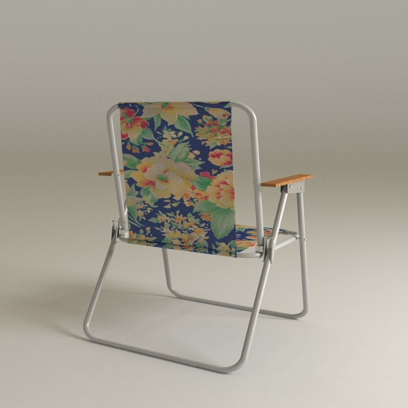 3ds max camp chair