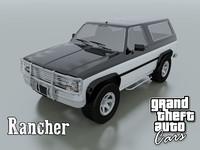 3d rancher grand theft