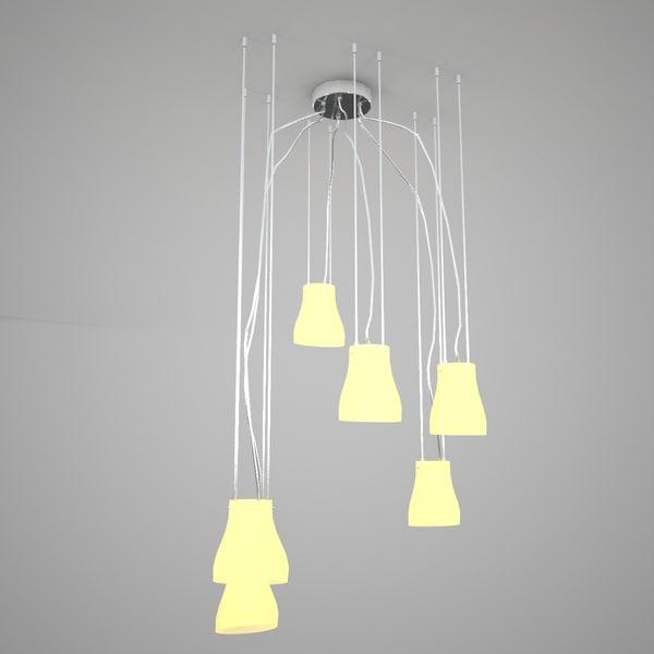 chandelier 3d max