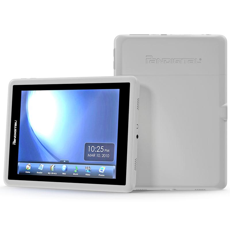 max tablet pandigital t-70fw