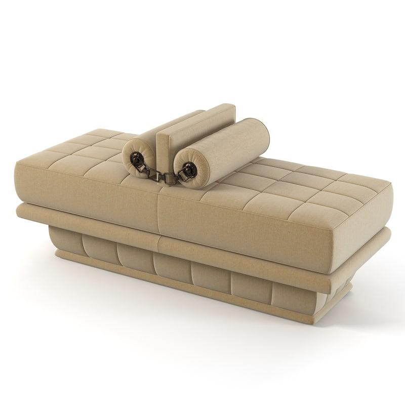 3d model visionnaire lavinia pouf