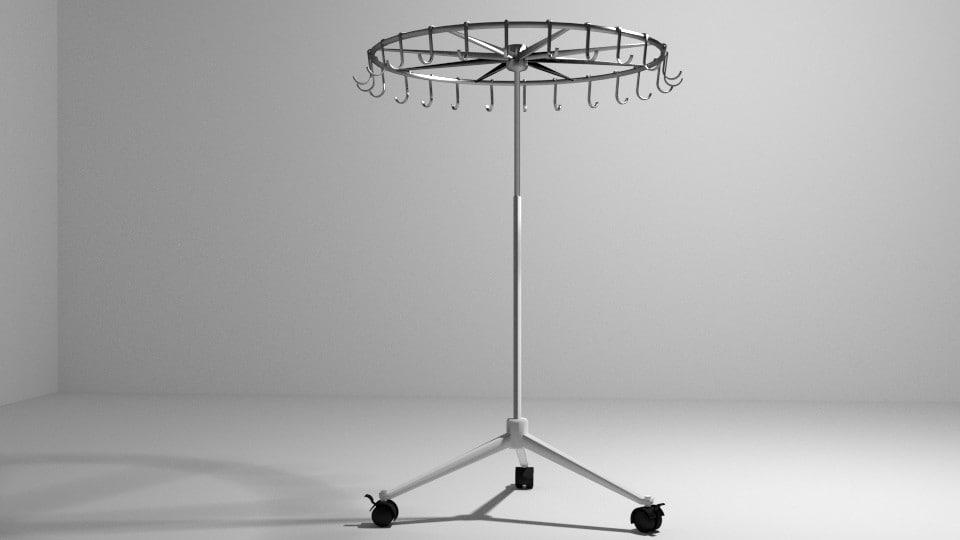 3d model cloth hanger
