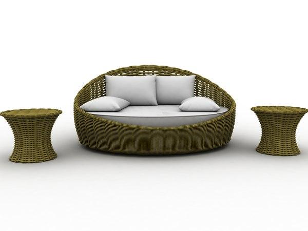 furniture wicker max