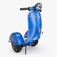 3d model segway vespa