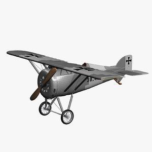 3ds max monoplane aviatik 30 40