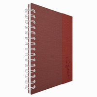 notebook note book 3d 3ds