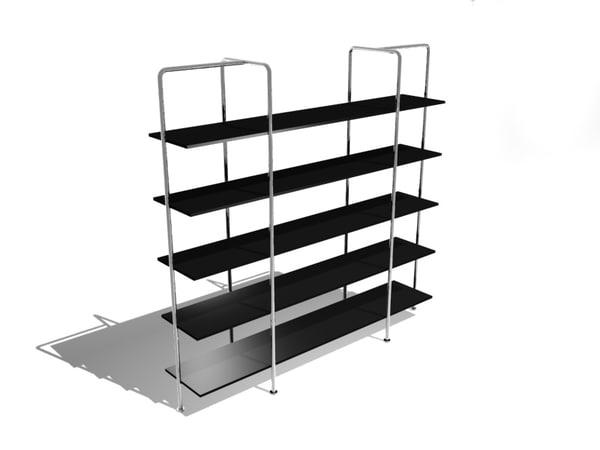 b175 shelving breuer 3d model