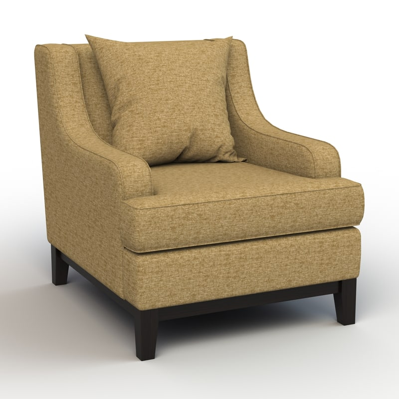 3ds max nathan vermont lounge chair