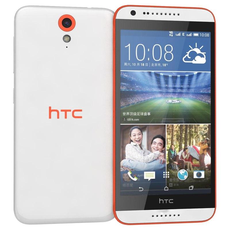 3d model htc desire 820 mini