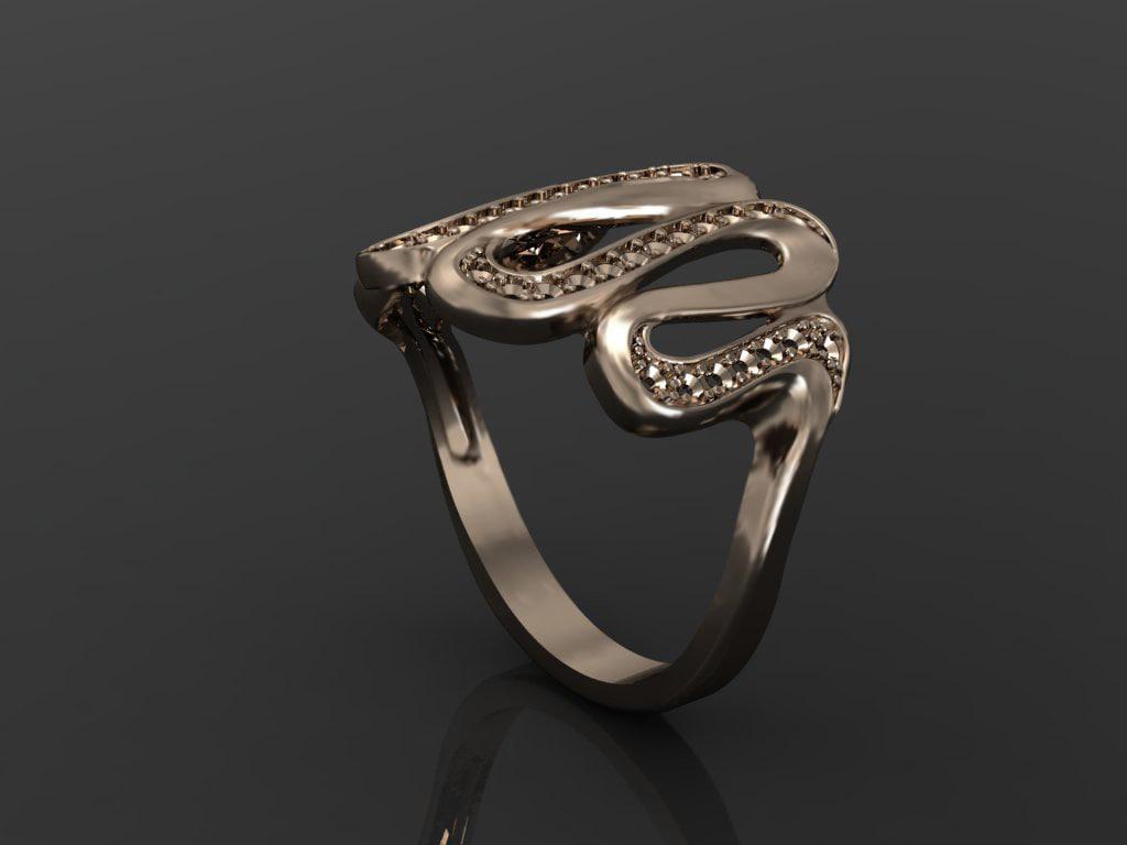 3d jeweler ring