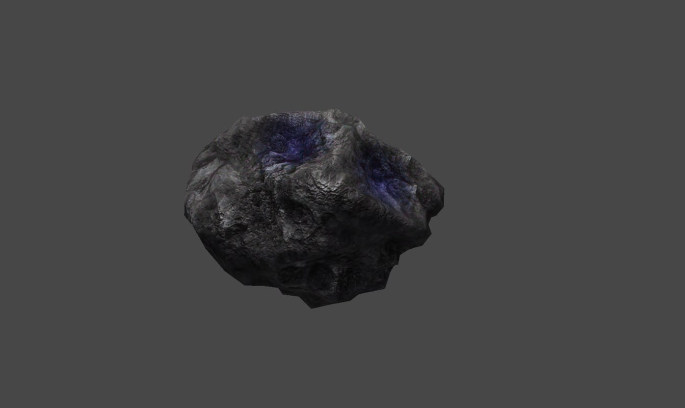 3d asteroid