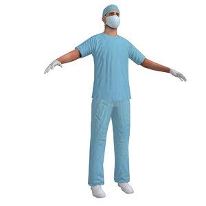 surgeon 2 3d model