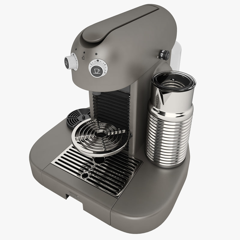 nespresso gran maestria 3d max