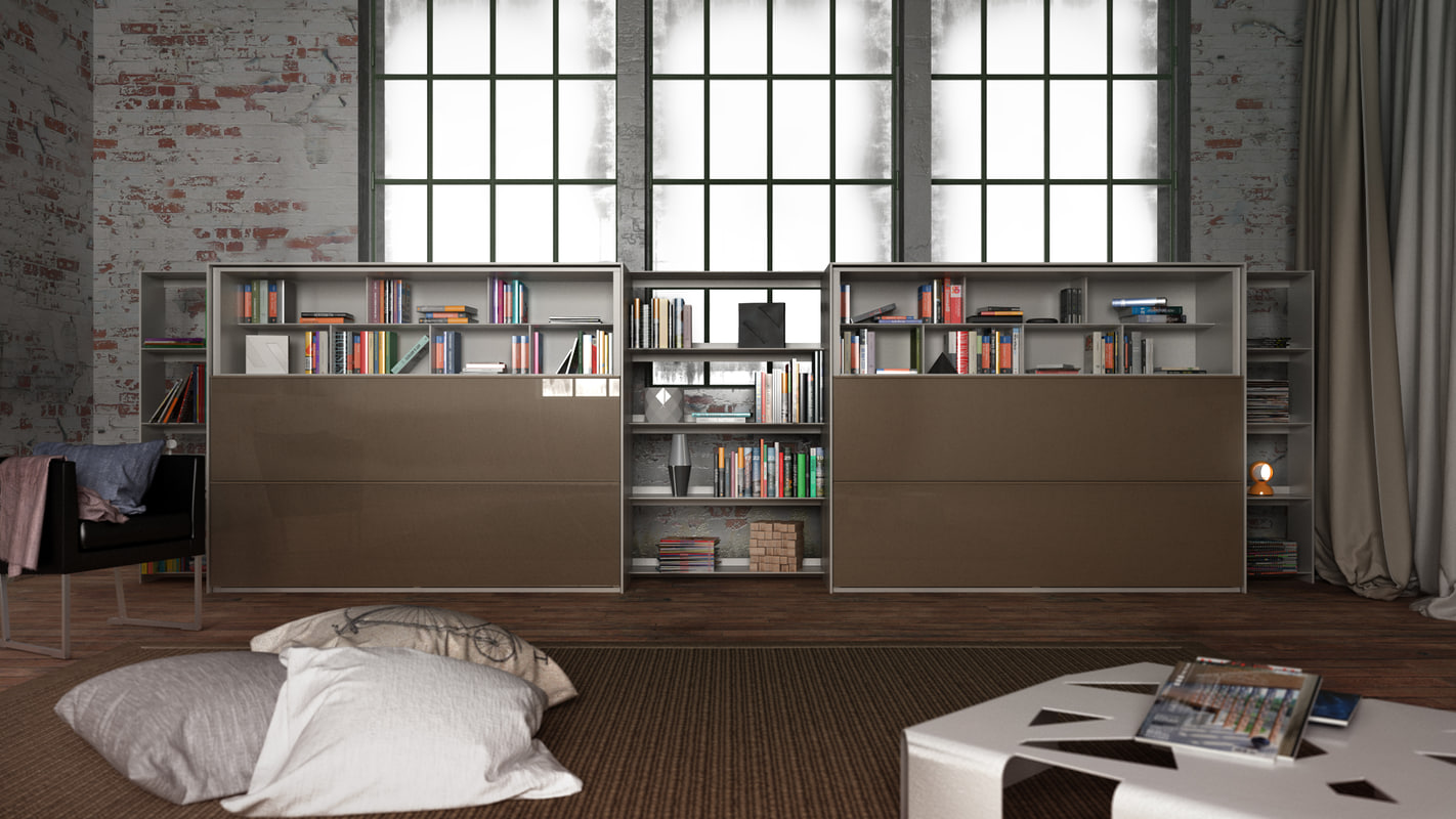 cinema4d b bookcase 4 -
