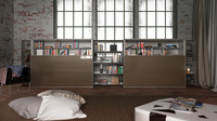 cinema4d b bookcase 4 -