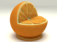 Nature orange chair