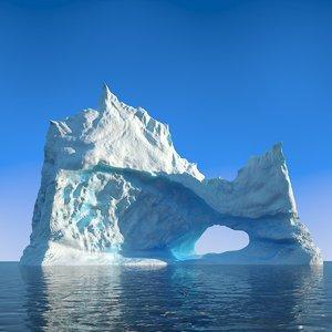 iceberg ice obj