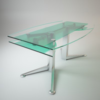 Folding glass table SPECTRUM