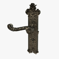 Baroque Door Handle