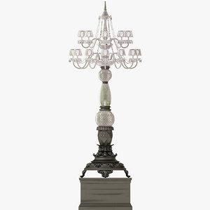 jumbo floor lamp fla-304 3d model