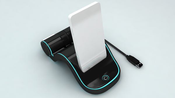 3d mobile dock station