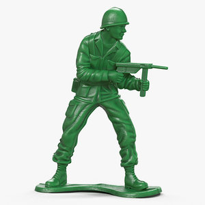 3d toy soldier model