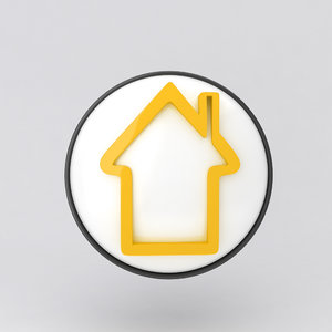 icon house 3d model