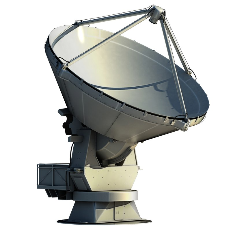 3ds max alma radio telescope