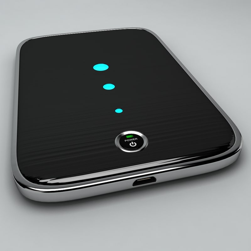 3d model power bank