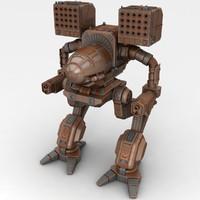 Mech Warrior Robot
