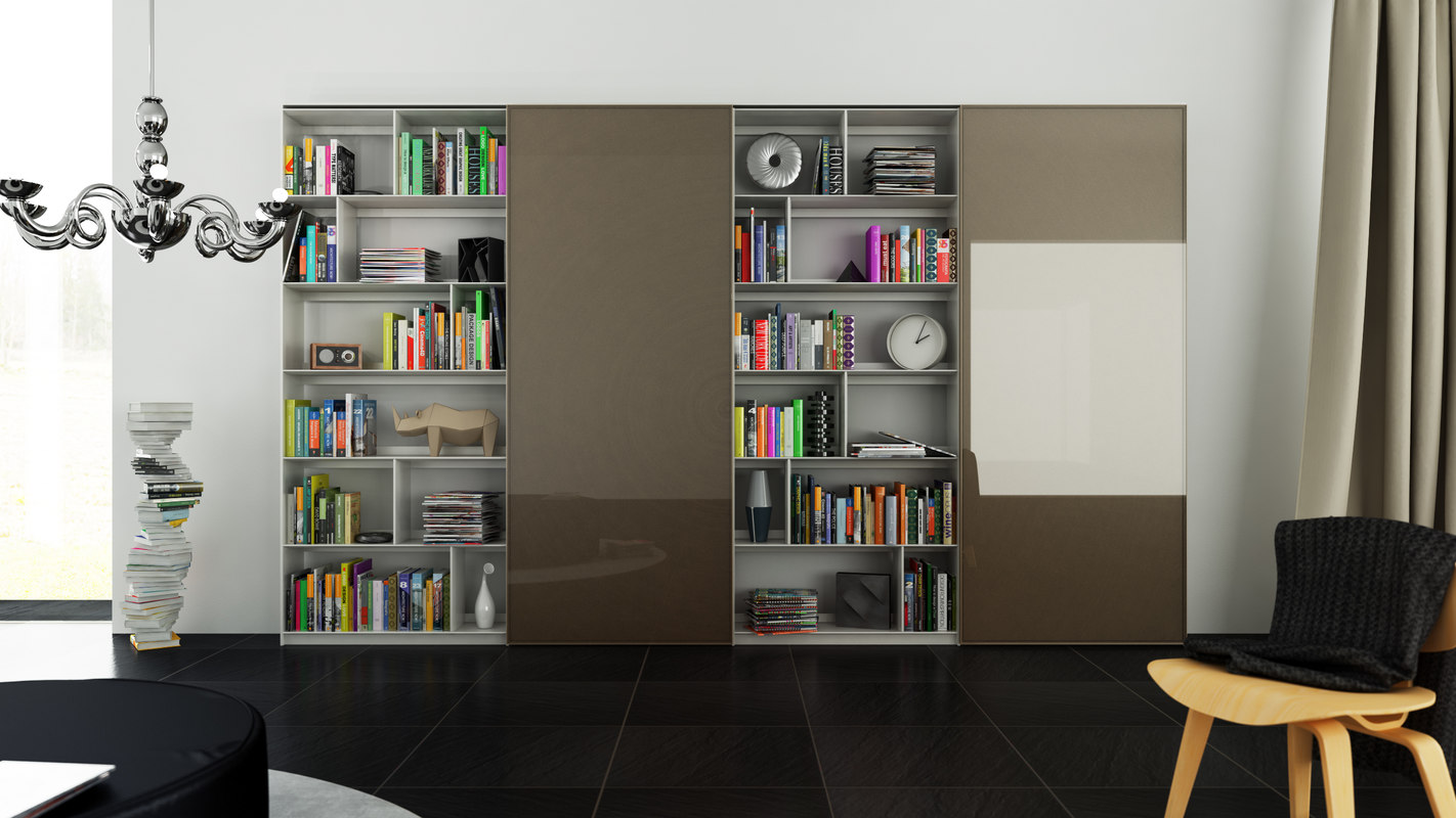 cinema4d b bookcase 23 -