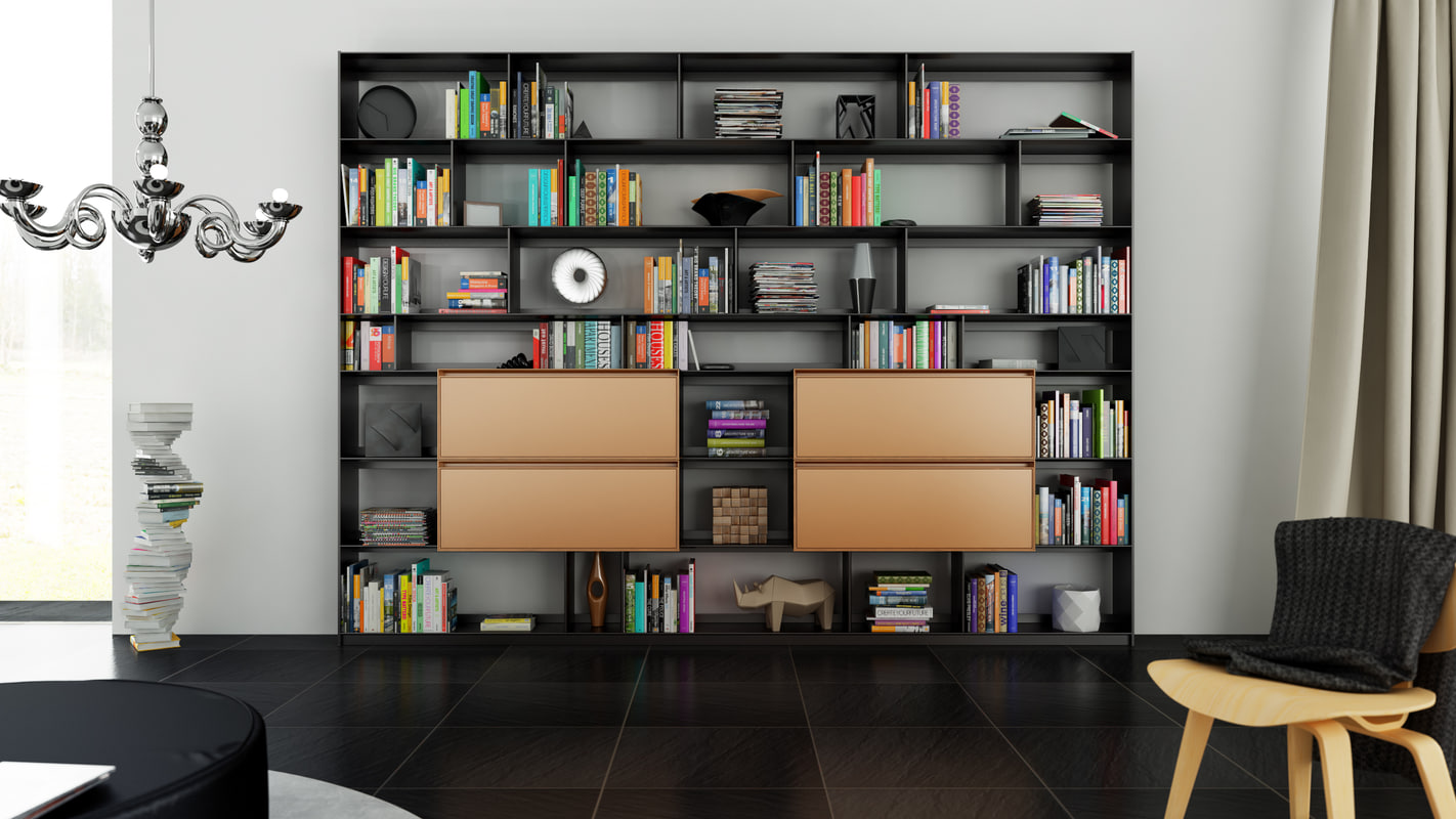 cinema4d b bookcase 29 -