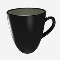 Tea Cup - Ceramic Black