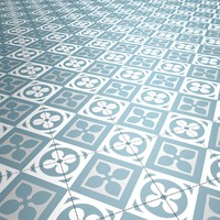 Floor Tile Blue