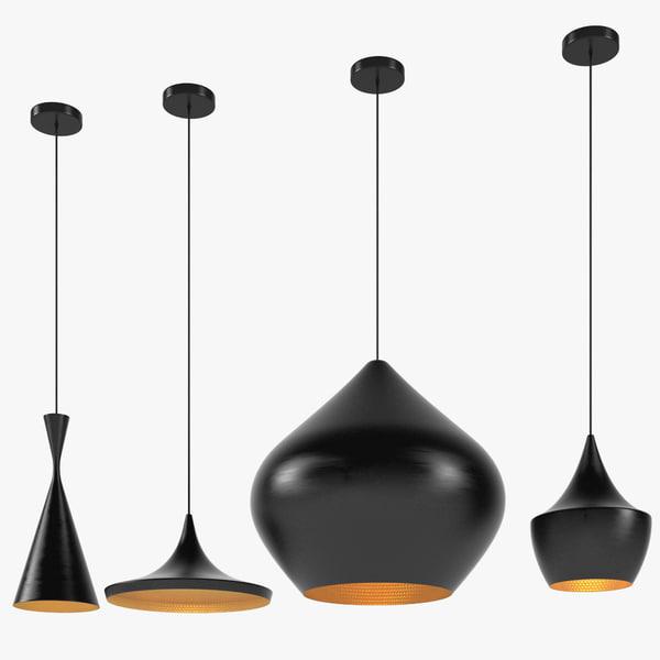 3d model dixon lamps