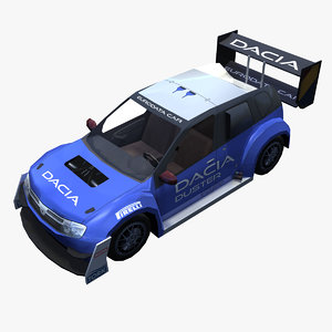 max dacia duster rally car